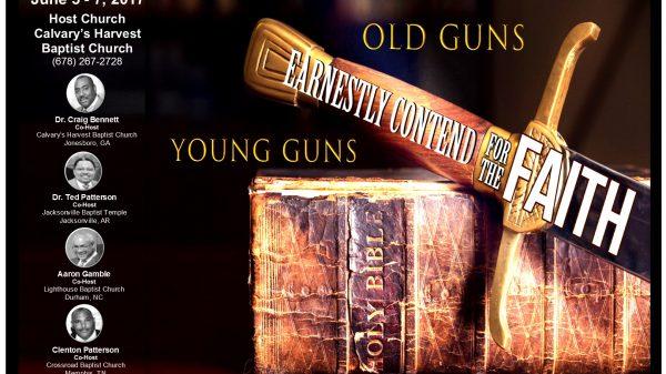 Old Guns Young Guns. WEBSITE poster